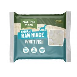 Natures Menu Just White Fish 400g Mince