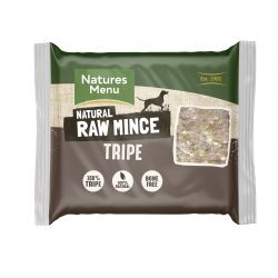 Natures Menu Just Tripe 400g Mince