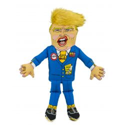 Presidential Parody Donald Dog Toy