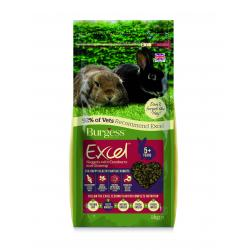Burgess Excel Mature Rabbit Nuggets with Cranberry & Ginseng