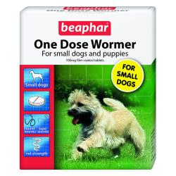Beaphar One Dose Wormer for Small Dogs & Puppies