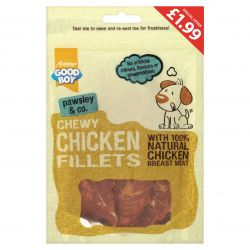 Good Boy Chewy Chicken Fillet PM£1.99