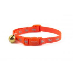 Ancol Cat Collar Hi Viz Orange