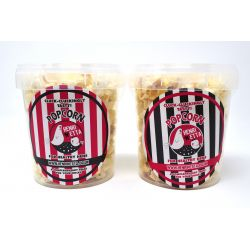 Barking Bakery Hen Garlic Popcorn Tub