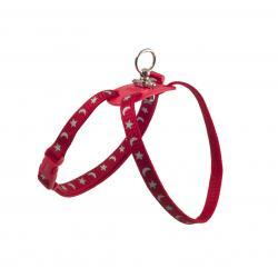 Ancol Reflective Cat Harness Red