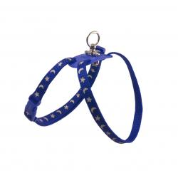 Ancol Reflective Cat Harness Blue