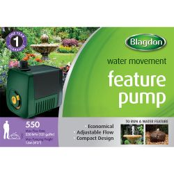 Blagdon Pond Pump Feature 550