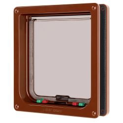 Cat Mate Large Cat Flap Brown