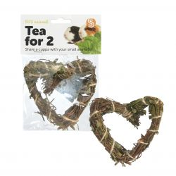 Tea Time Heart Natural Chew