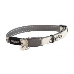 Rogz Glow in the Dark Catz Black Jumping Cat Collar