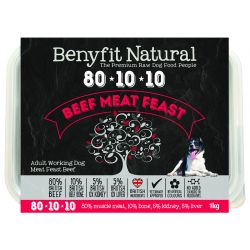 Benyfit Natural 80.10.10 Beef Meat Feast