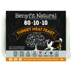 Benyfit Natural 80.10.10 Turkey Meat Feast