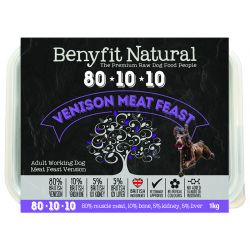 Benyfit Natural 80.10.10 Vension Meat Feast