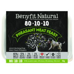 Benyfit Natural 80.10.10 Pheasant Meat Feast
