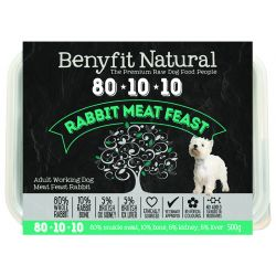 Benyfit Natural 80.10.10 Rabbit Meat Feast