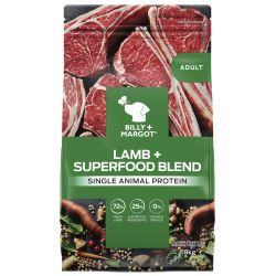 Billy & Margot Dog Adult Lamb & Superfoods
