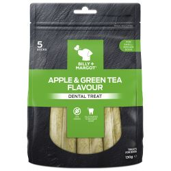 Billy & Margot Dental Treat Apple & Green Tea Small