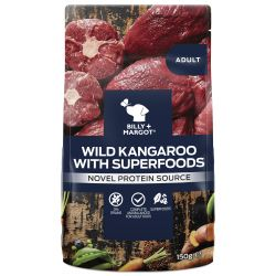 Billy & Margot Dog Adult Pouch Kangaroo & Superfoods