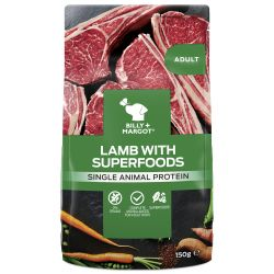 Billy & Margot Dog Adult Pouch Lamb & Superfoods