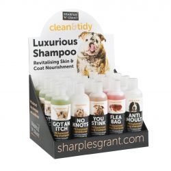 Clean 'N' Tidy Mixed Shampoo Counter Display Unit