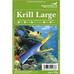 Monkfield Large Krill 100g Pack