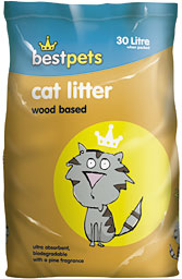 Wood Based Cat Litter For Rabbits