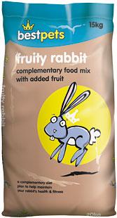 Bestpets Fruity Rabbit Food