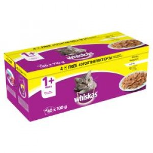 Whiskas Pouch Poultry Selection In Jelly 40/36 Pack