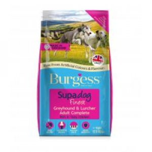 Burgess Supadog Finest Greyhound & Lurcher Adult Complete