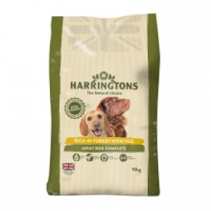 Harringtons Dog Turkey & Veg