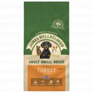 James Wellbeloved Adult Dog Small Breed Turkey & Rice