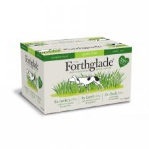 Forthglade Complete Meal Grain Free Adult Multicase Mixed