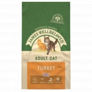 James Wellbeloved Adult Cat Turkey & Rice