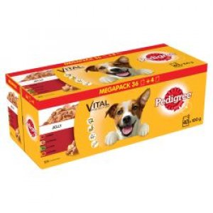 Pedigree Adult Dog Pouches Mixed Selection CIJ 40/36