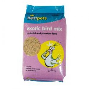 Bestpets Exotic Bird Mix Cockatiel & Parakeet Feed