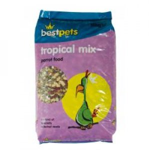 Bestpets Tropical Mix Parrot Food