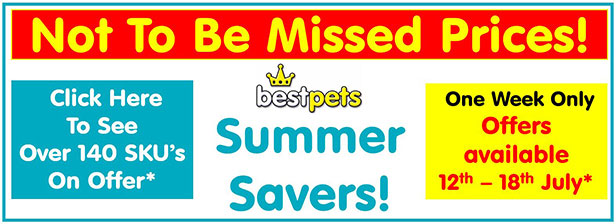 Bestpets Summer Savers