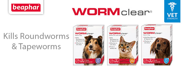 Worm Clear - kills Roundworms & Tapeworms