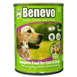 Benevo Duo Vegan Cat Dog Food 369g Pet Food